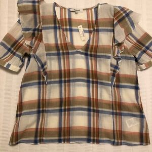 NWT Madewell Blouse size small
